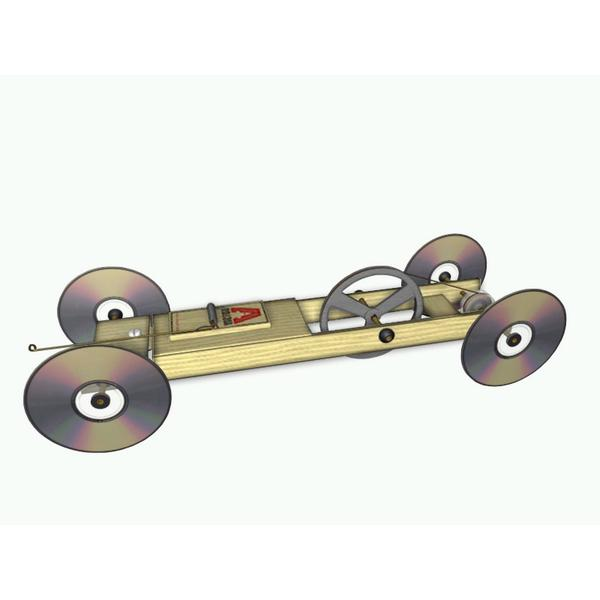 Kits - Mousetrap  Powered Vehicles