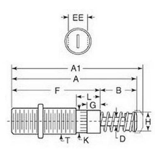 Diagram - Shock Absorbers - Adjustable - Miniature