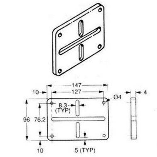 Diagram - Automat - Frame Kit Side Plate