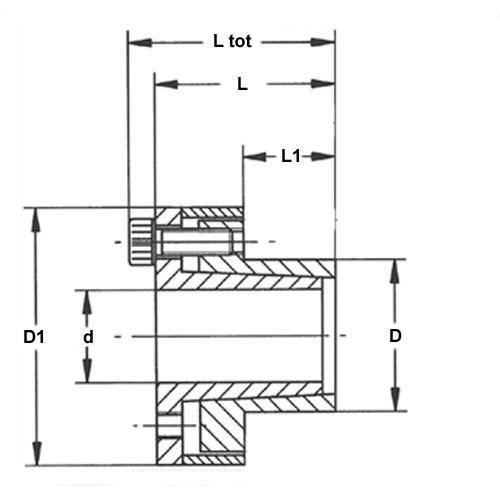 Diagram - Assemblies - Locking - Flanged
