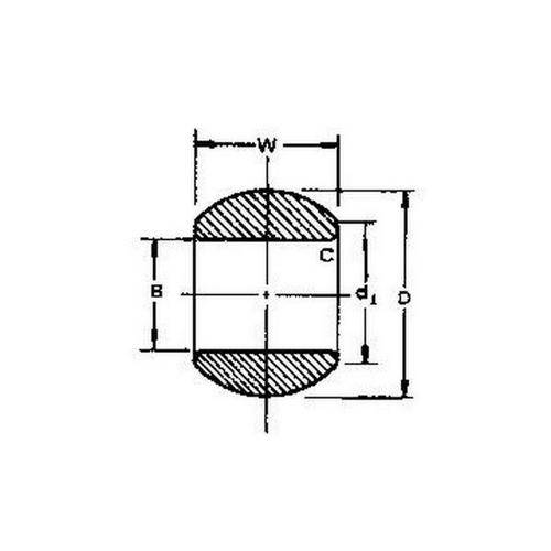 Diagram - Balls - Steel - Bored