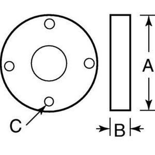 Diagram - Ballscrew - Nook Series - Flanges