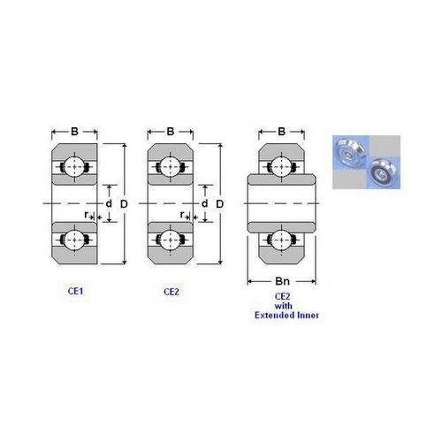 Diagram - Bearings - Chamfered Edges