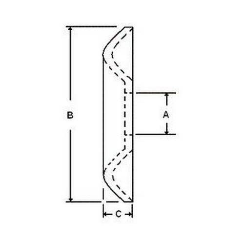 Diagram - Washers - Cup - Aluminium