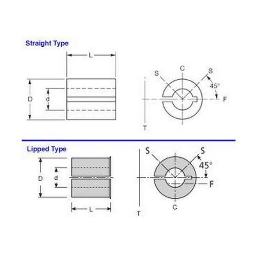 Diagram - Reducers - Bore