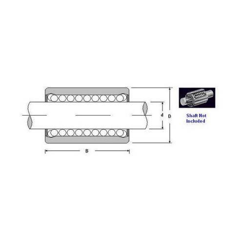 Diagram - Bearings - Linear - Ball - Miniature - Super High Precision