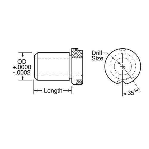Diagram - Bushings - Drill - Slip - With Head