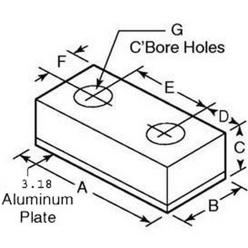 Diagram - Bumpers - Rectangle - Steel Plated