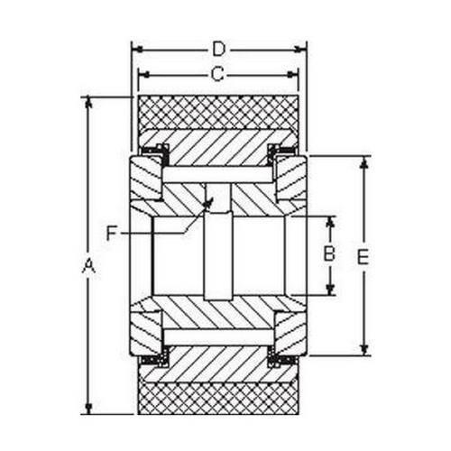 Diagram - Rollers - Yoke - Cam - Urethane Coated