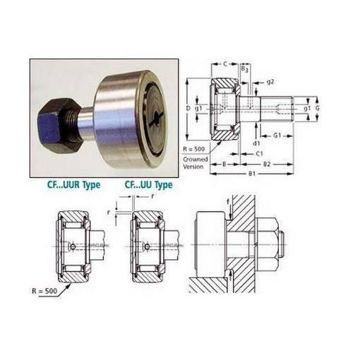 Diagram - Cam Followers - Roller Type - Standard