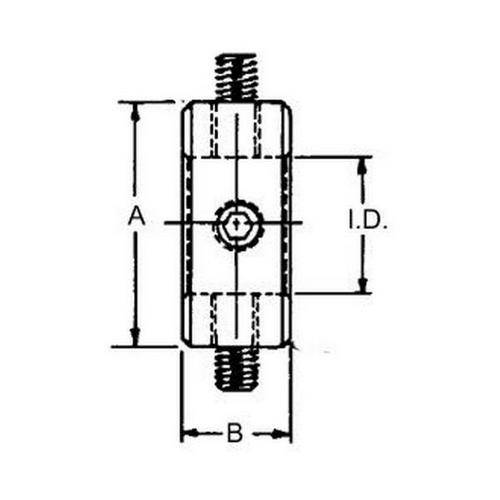 Diagram - Clamps - Gear - Screw Type