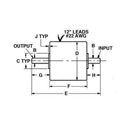 Diagram - Clutches - Magnetic Particle 24VDC
