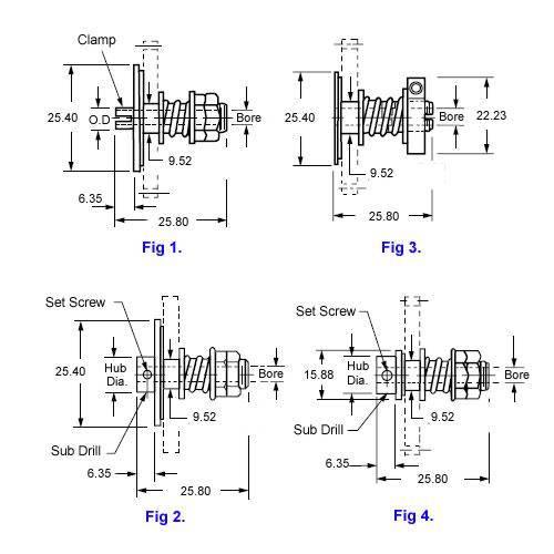 Diagram - Clutch Assemblies - Slip - Standard