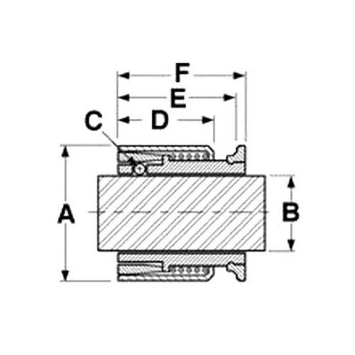 Diagram - Collars - Shaft - Gripfast - ABS Plastic