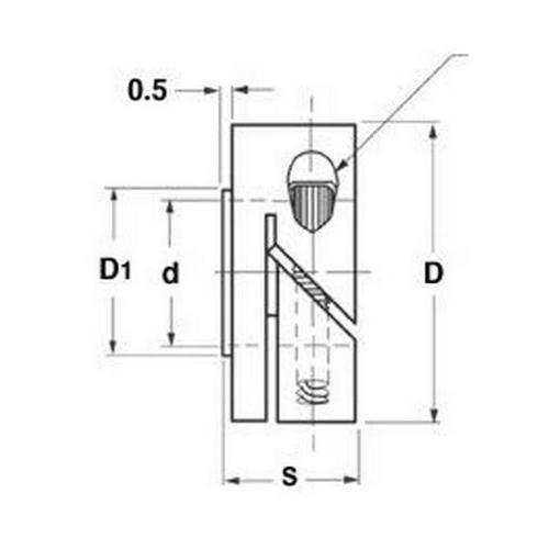 Diagram - Collars - Shaft - Fairloc