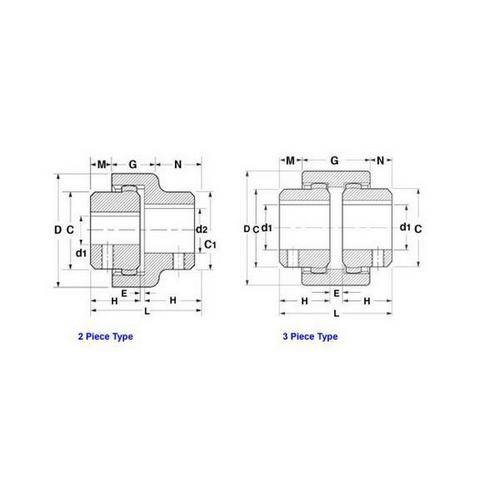 Diagram - Couplings - BoWex - Junior