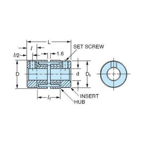 Diagram - Couplings - Sleeve Type - Sleeves