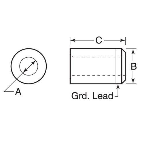 Diagram - Bushings - Drill - Press-fit - Headless - Tungsten Carbide