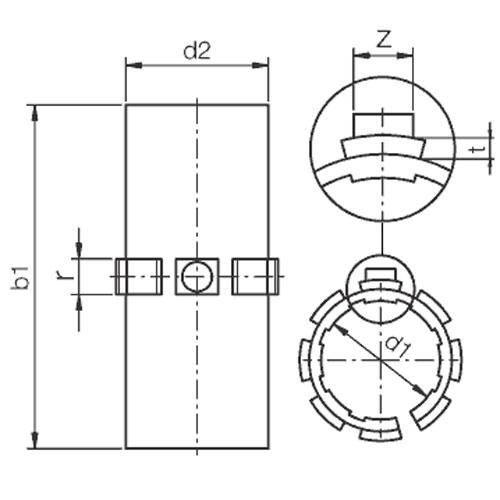 Diagram - Drylin Sliding Film