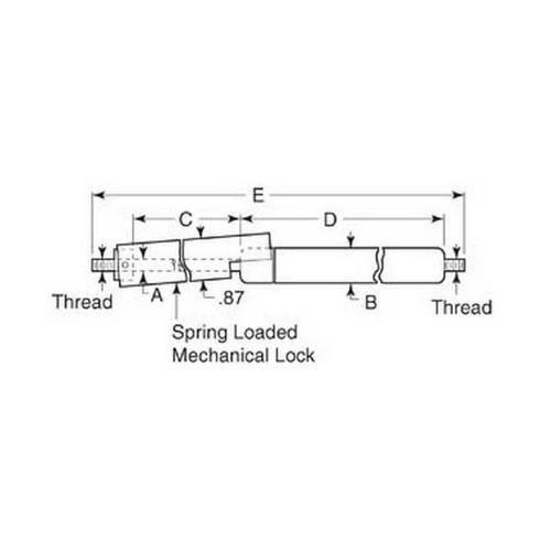 Diagram - Gas Springs - Econoloc