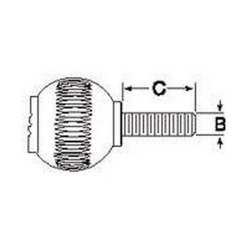 Diagram - Knobs - Ball - Novo-Grip - Male