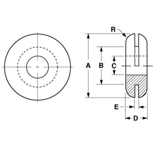 Diagram - Grommets - Rubber - EPDM