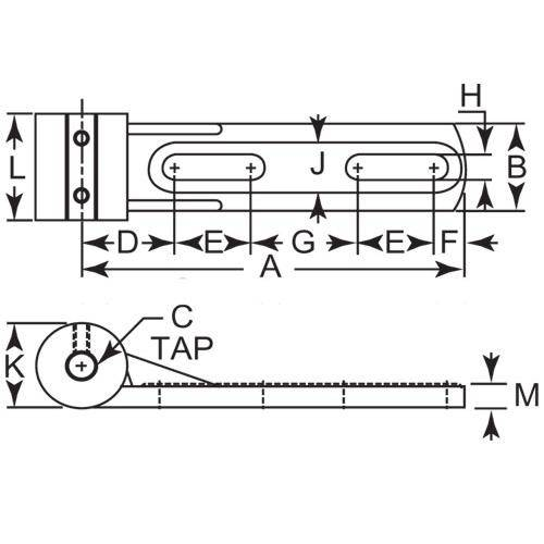 Diagram - Tensioner - Horizontal Mount