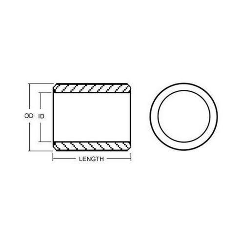 Diagram - Bearings - Needle Roller - Inner Rings