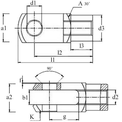 Diagram - Joints - Clevis - Plastic