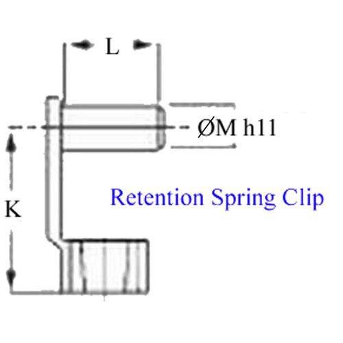 Diagram - Joints - Clevis - Spring Clips