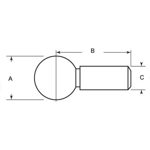 Diagram - Balls - Fixture - Stainless Steel
