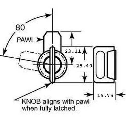 Diagram - Latches - Vise Action - Compression