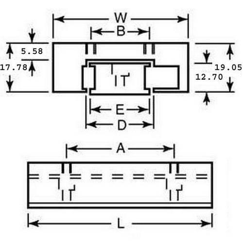 Diagram - Linear Slide Assemblies - Ball - Pre-Loaded - Hard Gib