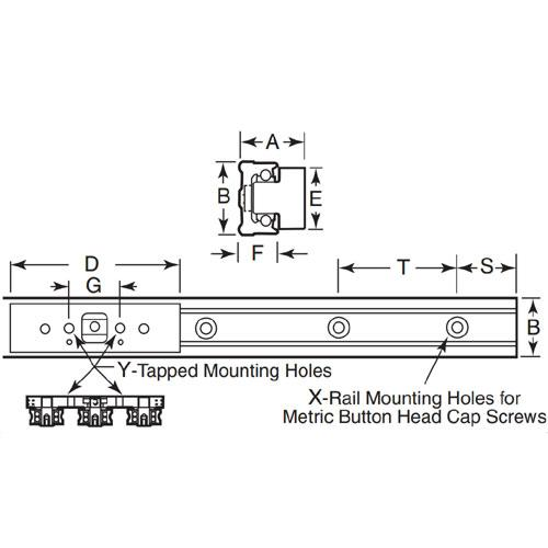 Diagram - Redi-Rail - Roller Guides