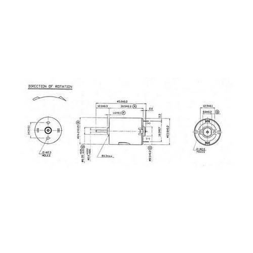 Diagram - Motors - DC 30.5X24.2 mm