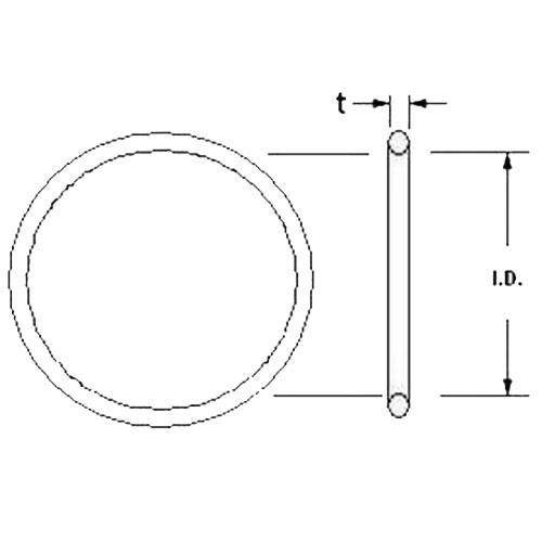 Diagram - O-Rings - EPDM Rubber