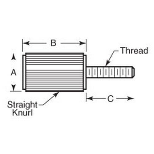 Diagram - Screws - Panel - Stainless