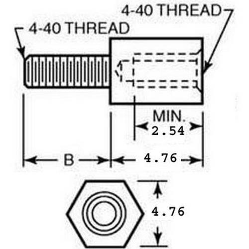 Diagram - Screws - Panel - Jack - Steel