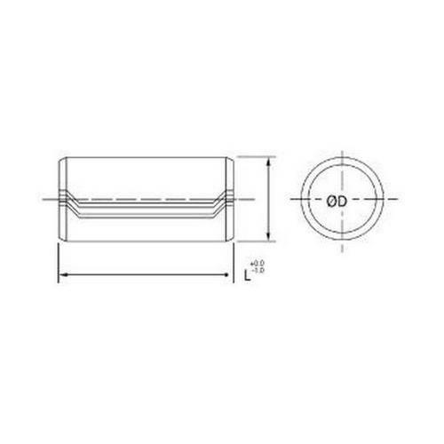 Diagram - Pins - Dowel Bushings