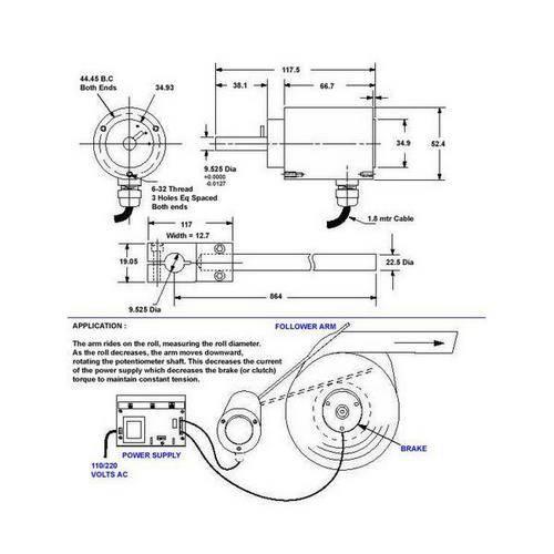 Diagram - Potentiometer - Follower Arm