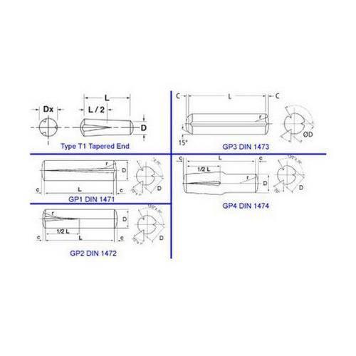Diagram - Pins - Groove