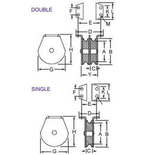 Diagram - Pulleys - Blocks - Flat