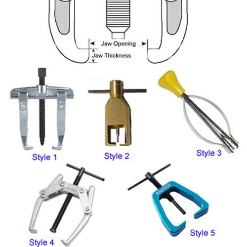 Diagram - Tools - Pullers - Small