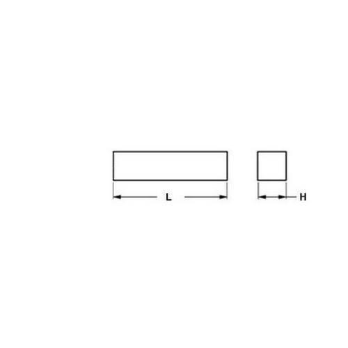 Diagram - Square Bar - Urethane