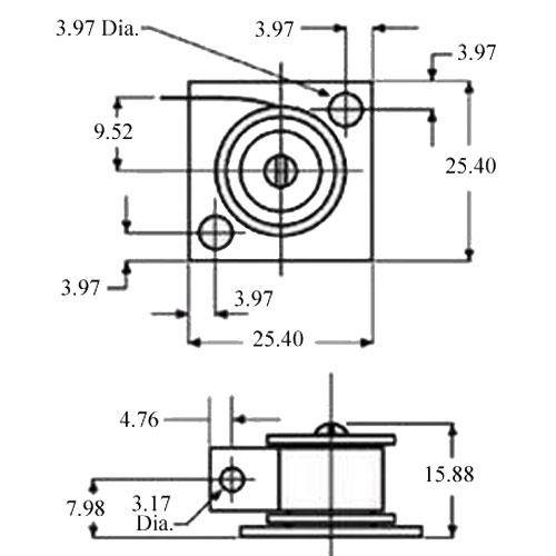 Diagram - Spring Assemblies - Small Bracket - RINO
