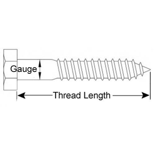 Diagram - Screws - Coach - 316 Stainless