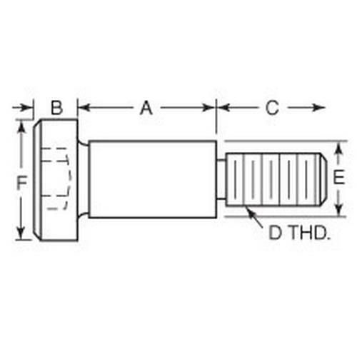 Diagram - Screws - Shoulder - Jig and Fixture - Steel