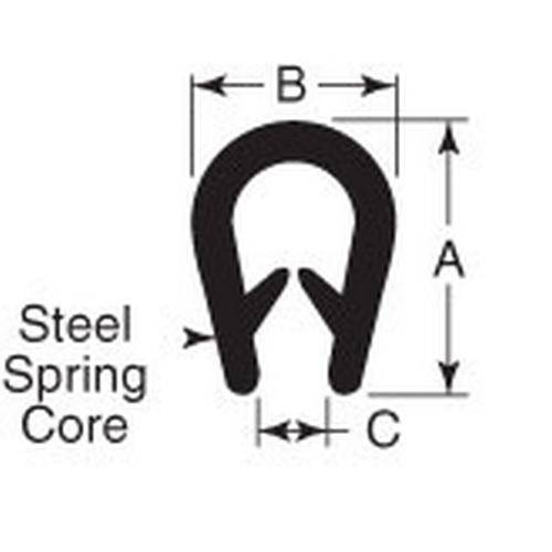 Diagram - Seals - Door Edge Protection Material