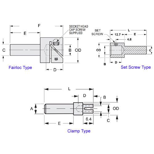 Diagram - Extenders - Shaft