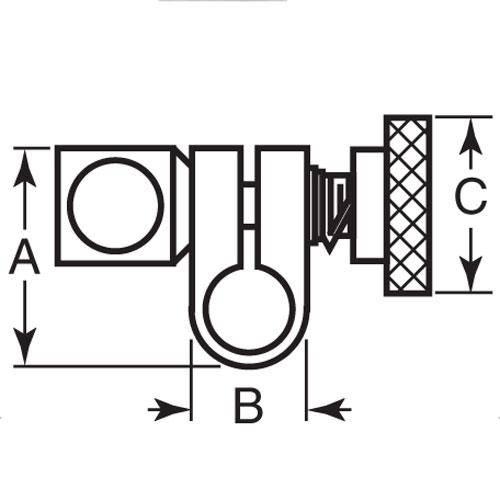 Diagram - Joints - Swivel - Knob Style - Steel